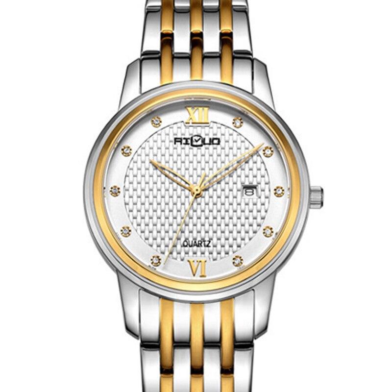 Marca de lujo Francia AILUO relojes de pareja Japón MIYOTA movimiento de cuarzo relojes de mujer impermeables zafiro relojes femeninos A7048L