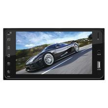 """7 """"FHD Auto Montiert 2 Weg Spiegel Link MP4 MKV MP5 USB SD Bluetooth Player Umkehrung Bild für Apple iPhone AirPlay Android"""