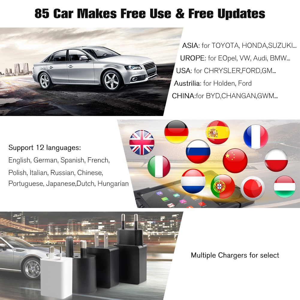NEXPEAK K1 Pro OBD2 Car Diagnostic Scanner Tool for Auto ABS Airbag Oil EPB DPF Reset Obd 2 Bluetooth All System Car Diagnostics