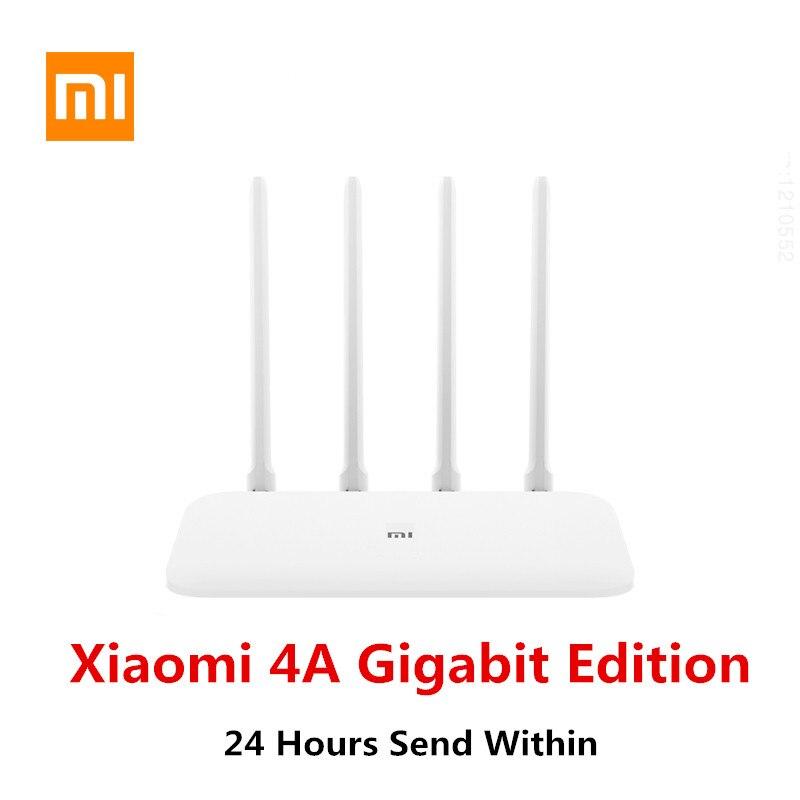 Xiaomi Router 4A Gigabit Edition 128Mb Wifi Extender Dual-Core CPU Game Accelerator Coverage External Signal Amplifier Mi Home