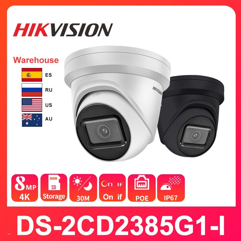 Hikvision 8MP كاميرا IP كاميرا DS-2CD2385G1-I 4K PoE H.265 + الوجه كشف Darkfighter التطبيق فيديو مراقبة في الهواء الطلق الأمن الرئيسية