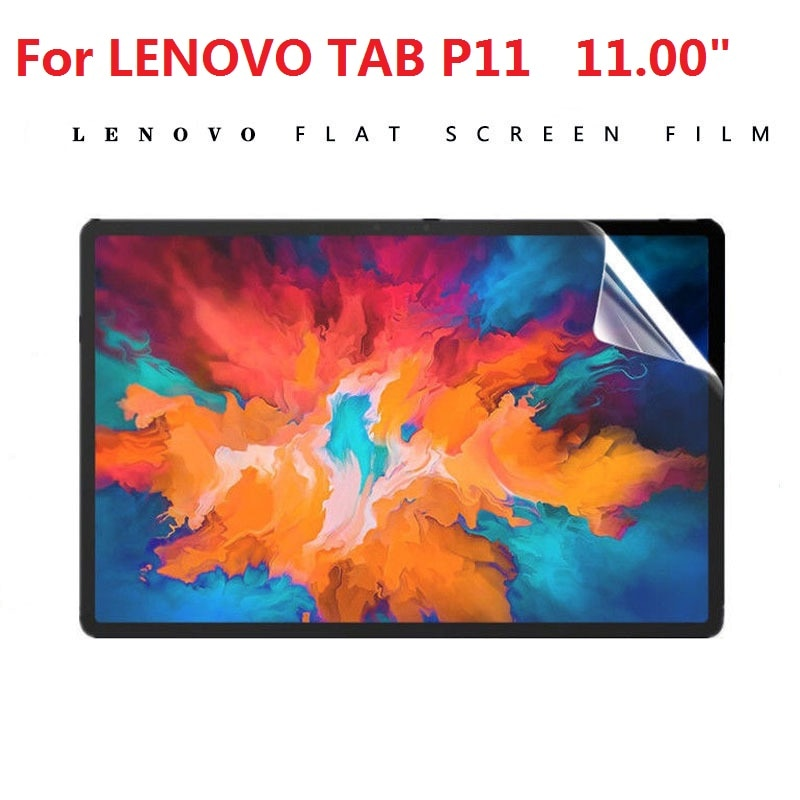 2Pcs 2020 New soft PET Film Screen Protector For Lenovo Tab P11 11 inches 0.3mm 9H Tablet Anti Scratch Protective HD Film