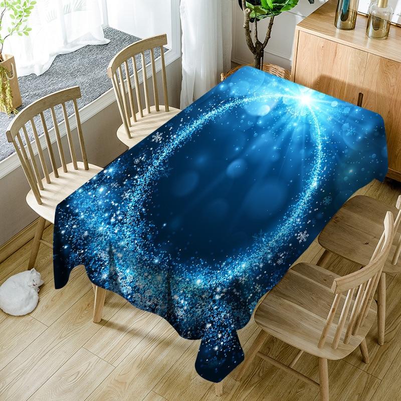 Impresión Digital impermeable mantel Oxford impermeable mantel decoraciones para la sala de estar