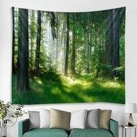 forest landscape decoration tapestry hippie bohemian wall tapestry gypsy landscape wall decoration tapestry bedroom tapestry