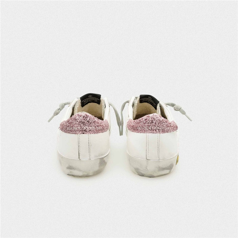 Children's 2021 Spring and Summer New Sequined Stars  Retro Old Small Dirty Shoes Boys and Girls Casual Kids Shoes CS198 enlarge