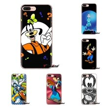 For Samsung Galaxy S3 S4 S5 Mini S6 S7 Edge S8 S9 S10 Plus Note 3 4 5 8 9 Graffiti Minnie Goofy goes Transparent TPU Cases Cover