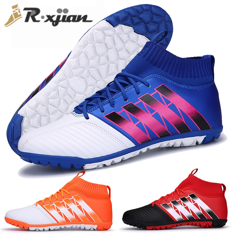 Unisex Plus Size Football Shoes Rugby Non-slip Shoes Rugby Short Boots Youth Training Sports Shoes Adult Indoor Sports Shoes