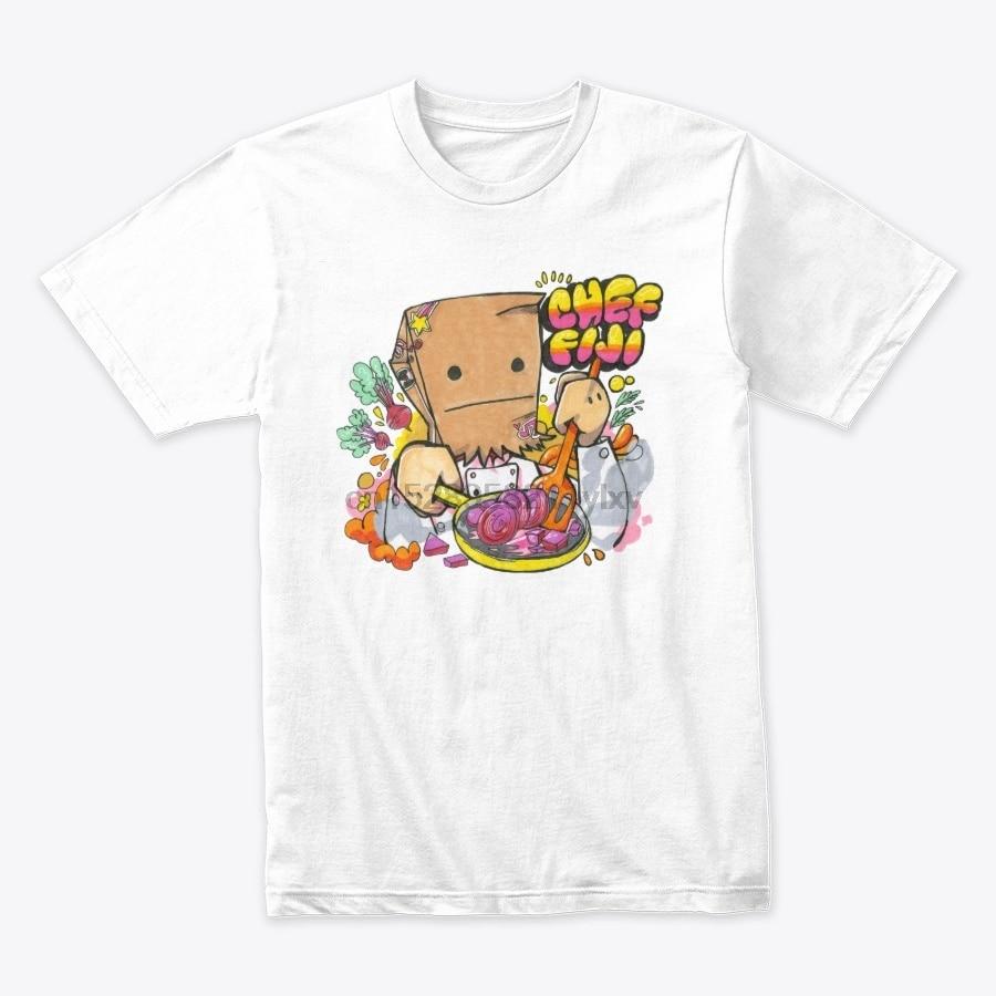 Camiseta de Chef Fiyi para hombre