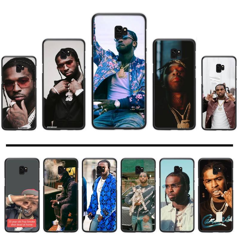 Чехол для телефона nba youngboy Rapper Pop Smoke usa boy для Samsung Galaxy S5 S6 S7 S8 S9 S10 S10e S20 edge plus lite