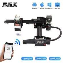 WAINLUX Master 3 20W graveur et découpeur Laser de bureau-Machine de gravure et de découpe Laser-imprimante Laser-routeur Laser CNC