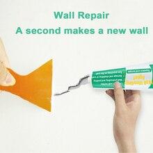 Crème de réparation de murs   Agent de réparation murale, crème de fixation de murs, peinture au Latex résistante aux moisissures, Patch pâte de mélange pour le bricolage à séchage rapide