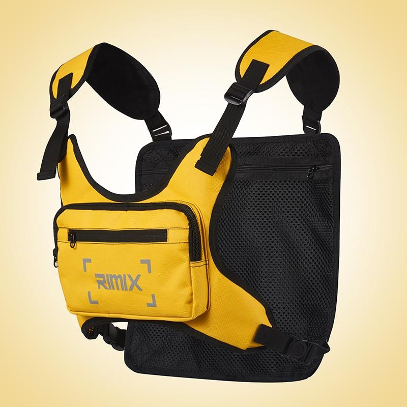 Спортивный жилет унисекс для езды на велосипеде, бега, нагрудная сумка, рюкзак для тренажерного зала, сумка для велосипеда