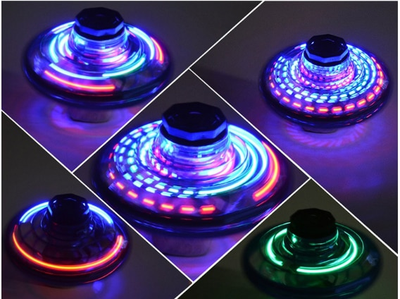 ZK20 Mini Drone UFO Flying Fidget Spinner Hand Operated Induction Remote Control Aircraft Toys for Kids Quadrocopter Dropship enlarge