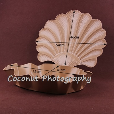 Coconut Newborn Photography Props Featured color shell props children babyone hundred days ornaments studio shooting baby posing enlarge