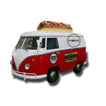 Street mobile snack fast food ice cream van truck trailer food cart for sale