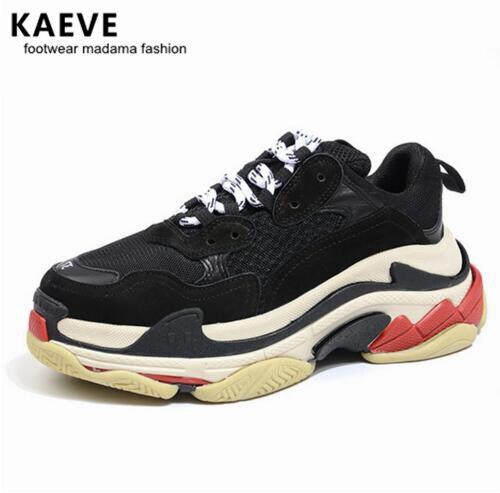 ¡OFERTA 2017! Zapatillas de deporte KAEVE para hombre, zapatillas deportivas con cordones para hombre, zapatillas informales con plataforma para hombre, zapatillas de correr a la moda, calzado para hombres