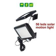 100 led 태양 빛 분할 패널 led 램프 태양 투광 조명 거리 정원 벽 안뜰 랜 턴 보안 비상 갑판 울타리 램프