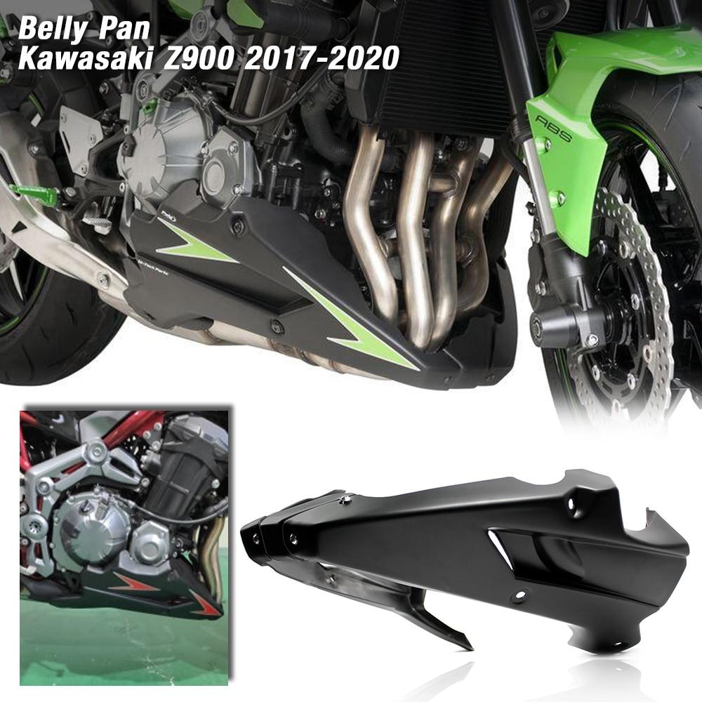 For Kawasaki Z900 2017 2018 2019 Motorcycle Bellypan Belly Pan Engine Spoiler Fairing Body Frame Kit