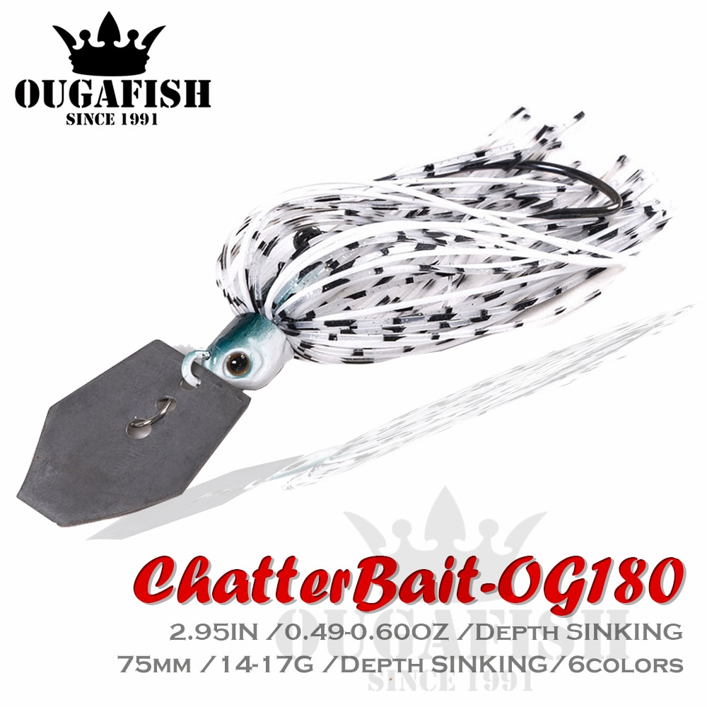 AliExpress - 2020 Chatterbait Fishing Lures Weights14-17g Fishing Tackle Spinnerbait Fishing Accessories Isca Artificial Buzz Fish Bait Pesca