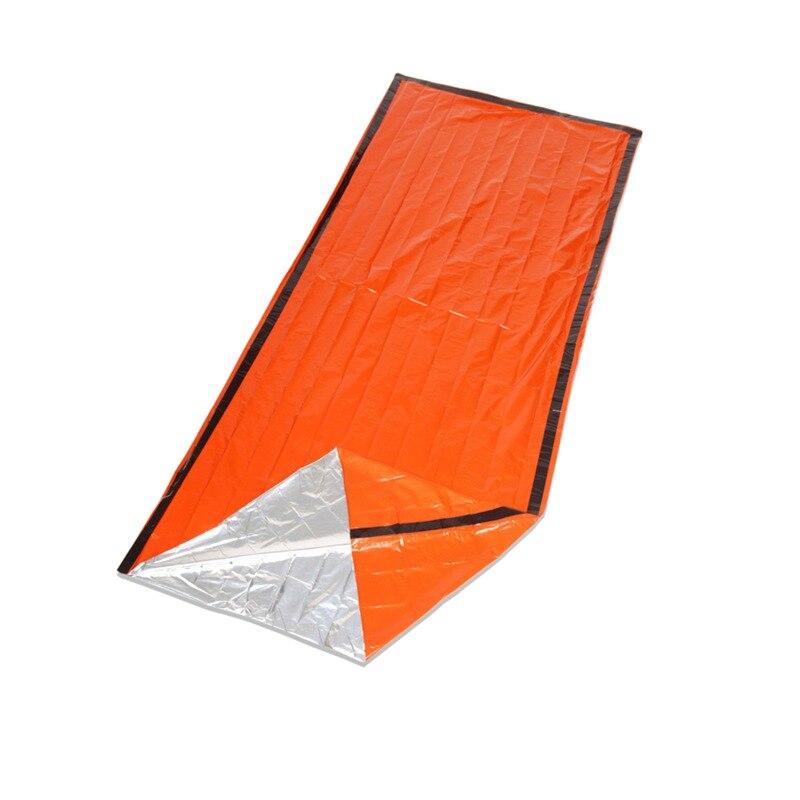 Ligero portátil a prueba de frío térmico Camping Mat manta de emergencia saco de dormir Multi funcional PE aluminio alfombrilla de película X485