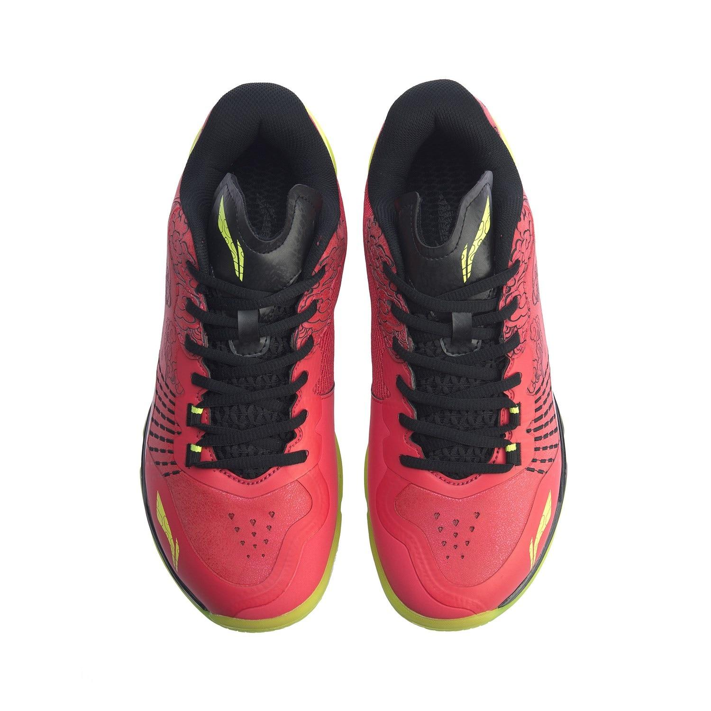 Мужская обувь для бадминтона Li-Ning профессиональная обувь для соревнований по бадминтону с подкладкой li ning спортивная обувь AYAP013-5
