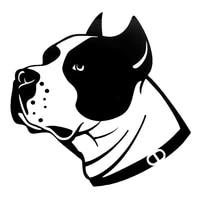 funny staffordshire pet dog car sticker automobiles motorcycles exterior accessories vinyl decals for honda lada bmw laptop