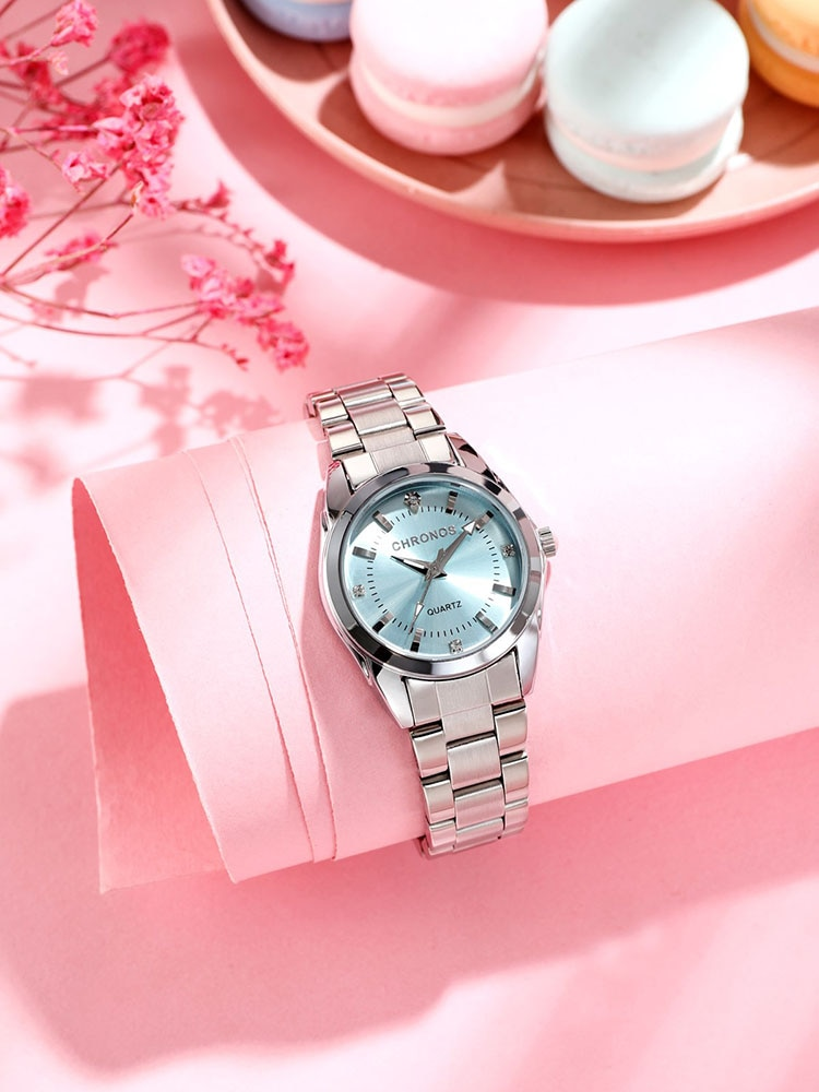Women Luxury Rhinestone Stainless Steel Quartz Watches Ladies Business Watch Japanese Quartz Movement Relogio Feminino enlarge