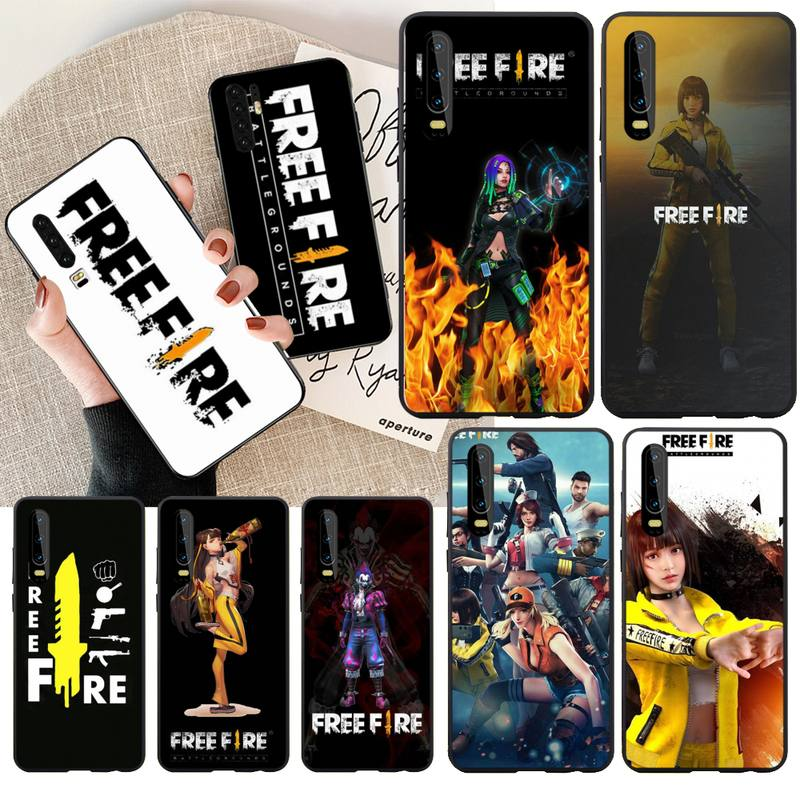 CUTEWANAN Free Fire Game Art DIY Luxury Phone Case for Huawei Honor 20 10 9 8 8x 8c 9x 7c 7a  Lite view pro
