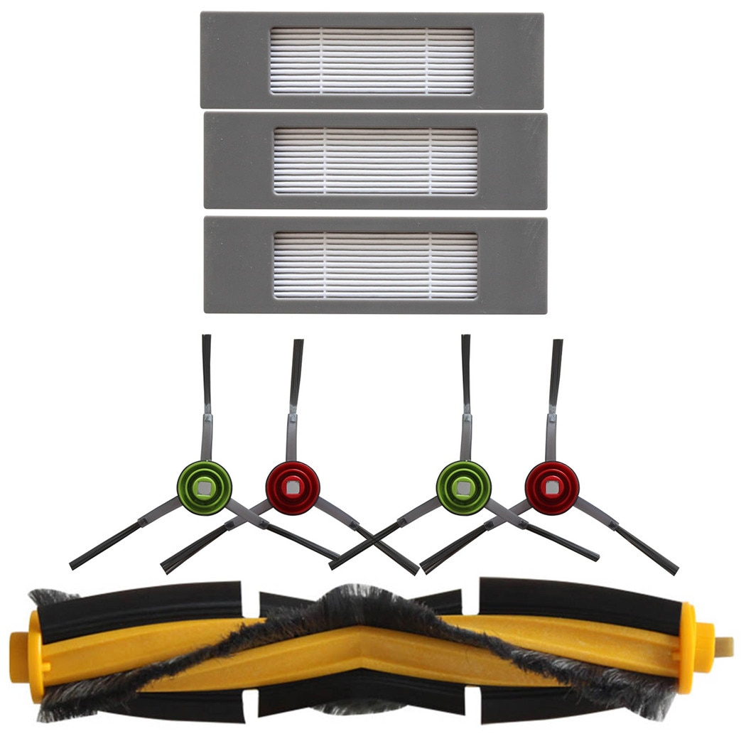 Main Brush Filters Side Brush Kit For Ecovacs Deebot OZMO 920/950/T8 Series Highly Matched With The Original