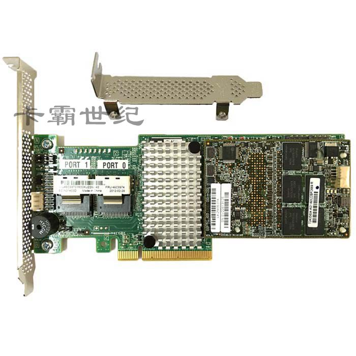 IBM M5016 carte réseau RAID 5/6 SAS/SATA LSI SAS 9265-8i carte tableau 1G Cache