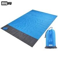 waterproof pocket beach blanket outdoor travel camping mat portable lightweight foldable pocket beach mat camping picnic blanket