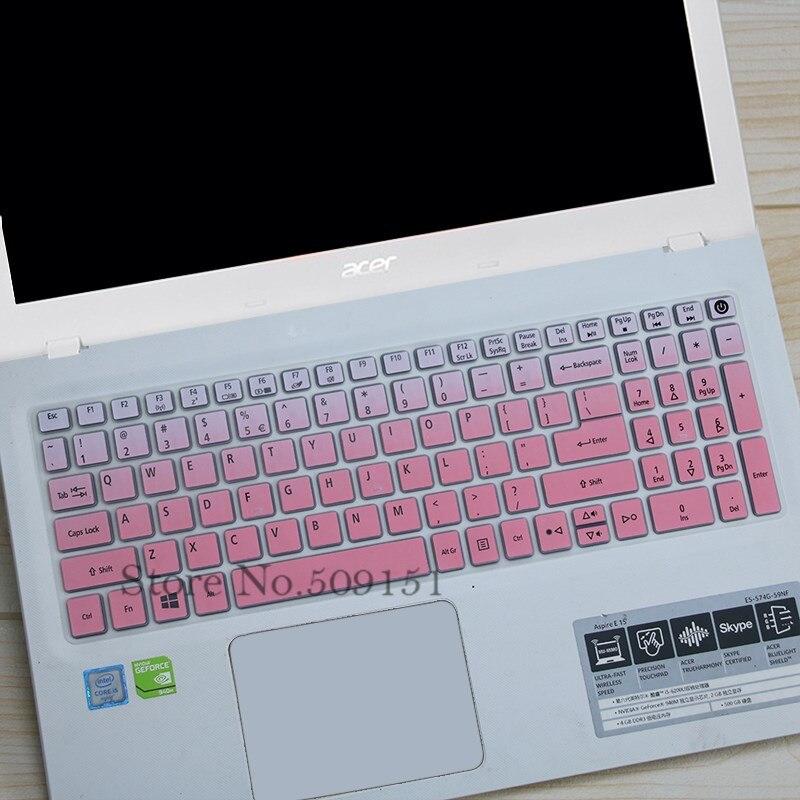 15-дюймовый силиконовый чехол для клавиатуры Acer Aspire e15 e 15 E5-573g 532 522 V3-574 F5-572 TMP257 E5-573 E5 573G