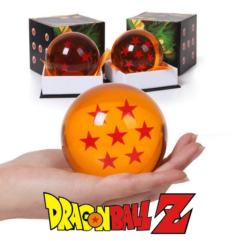 Caja Original de 7,5 CM Dragon Ball Z bolas de cristal figura de acción Anime 1 2 3 4 5 6 7 estrella Dragonball juguetes para niños