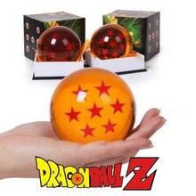 Original Box 7,5 CM Dragon Ball Z Kristall Kugeln Action Figur Anime 1 2 3 4 5 6 7 Sterne dragonball Kinder Kinder Spielzeug