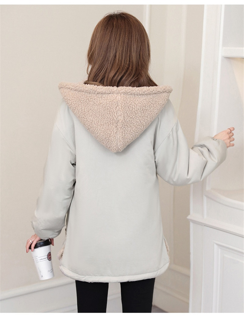 Hooded Baby Carrier Jacket 2020 Winter Hoodies Maternity Tops Outerwear Coat For Pregnant Women Carry Baby Pregnancy Clothings enlarge