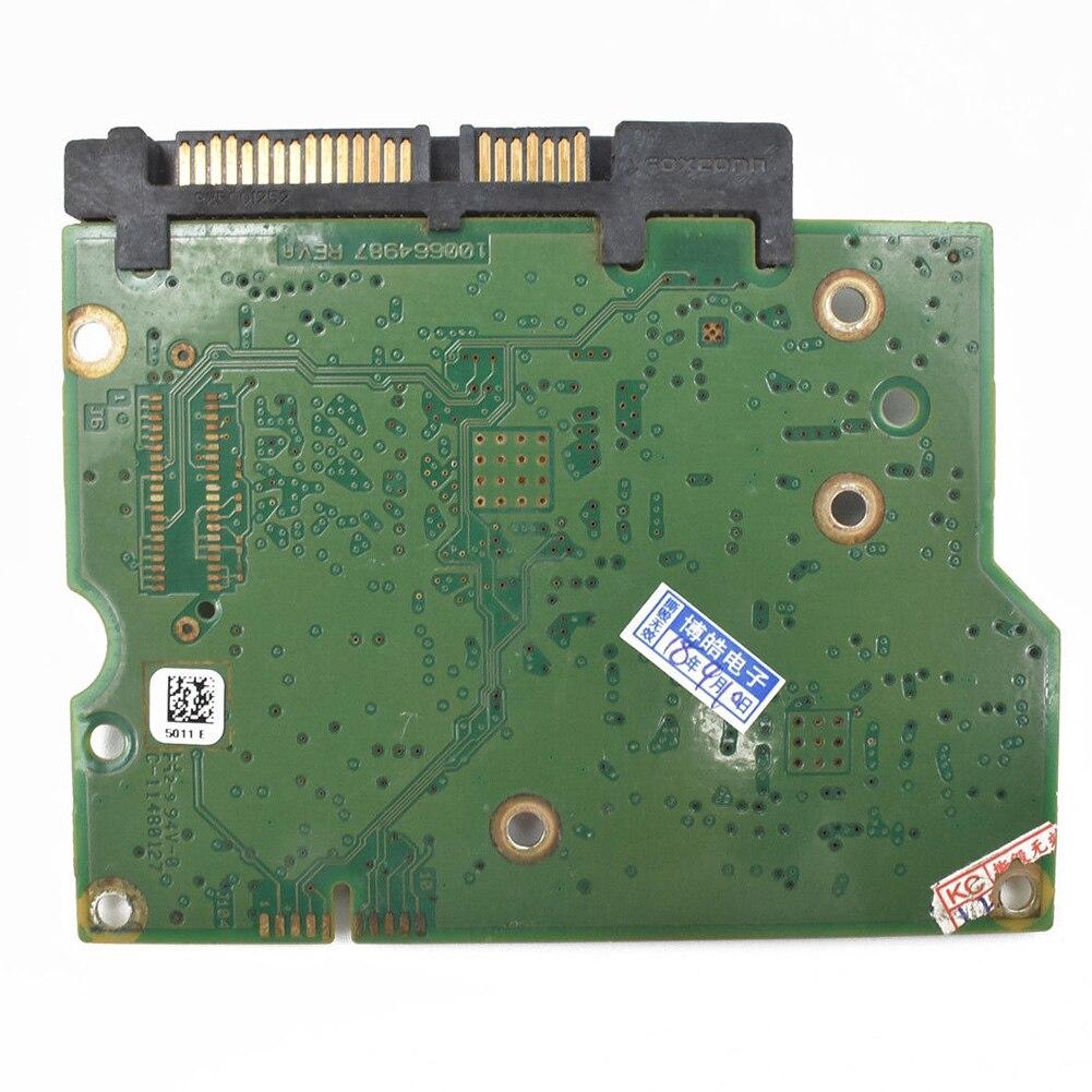 Placa de circuito práctico 100664987, controlador lógico de recuperación de datos, accesorios verdes, disco duro de repuesto impreso PCB para ST2000DM001
