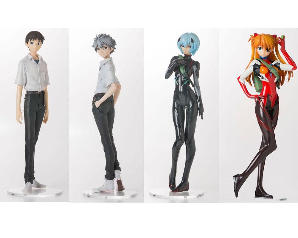 2020 new arrival original Asuka Langley Soryu/Ayanami Rei/ Ikari Shinji/Nagisa Kaworu action figure collection model toys