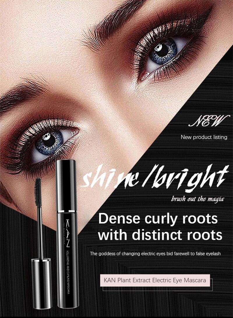 3D Mascara Lengthening Black Lash Eyelash Extension Thick Curling Eye Lashes Brush Beauty Eye Makeup