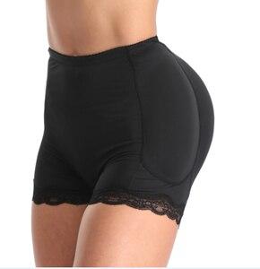 Women Underwear Shapers Shorts Explosion Models Fat Woman Sponge Cushion Insert Body Shape Rich Cross Hips Wavy Lace Body Hips