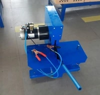 mobile van service 2 inch 4 wire dc12v cutting machine for hydraulic rubber hose
