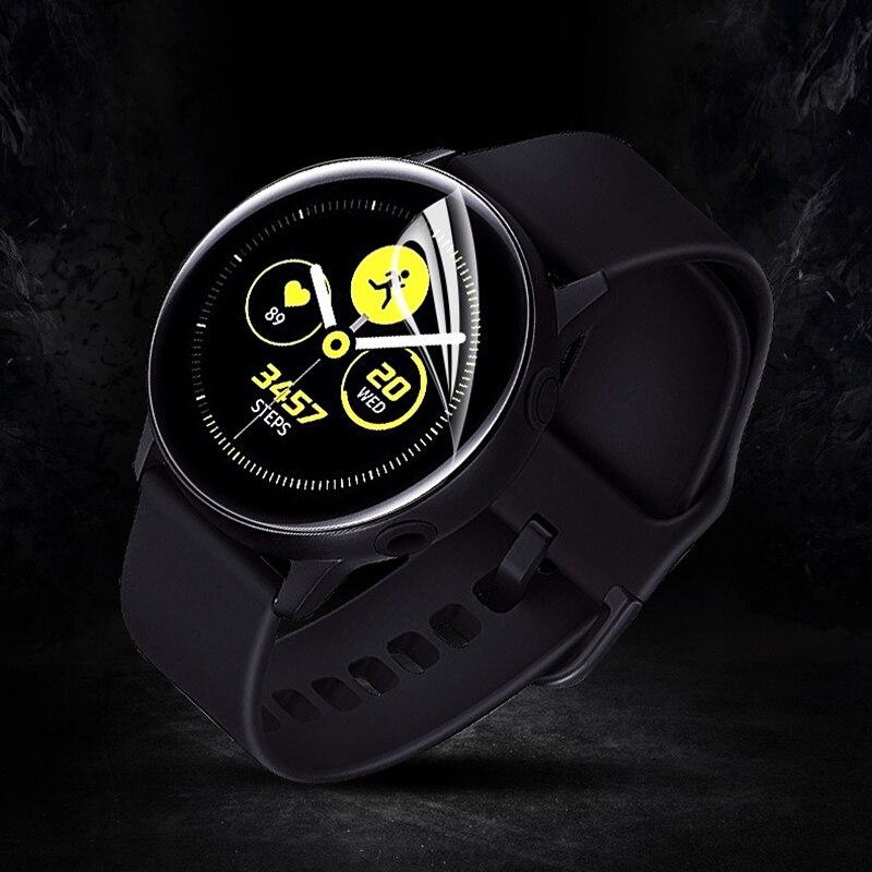 2pcs de Gel de agua fim de cristal para Samsung Galaxy Watch banda 42mm 46mm SM-R810/R800 Protector de pantalla Anti arañazos protección película HD