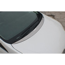 FOR Honda Odyssey CAR Hood Silver Plated Trim Strip Auto Cover Decoration Accessories Refit Windshie