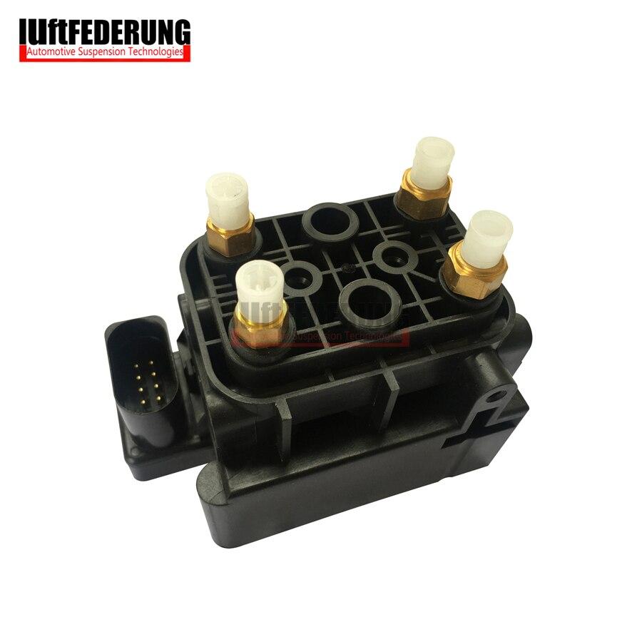 ¡Nuevo! Bloque de válvula de suministro de aire de suspensión de aire de alto rendimiento Luftfederung C2D10526 apto para Jaguar XJ 2010