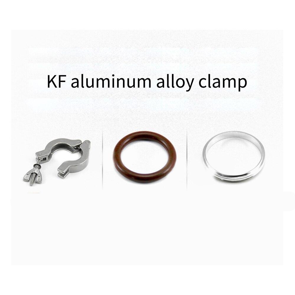 KF10 KF16 KF25  KF50 vacuum 304 stainless steel clamping pump accessories including O-ring stainless steel bracket недорого