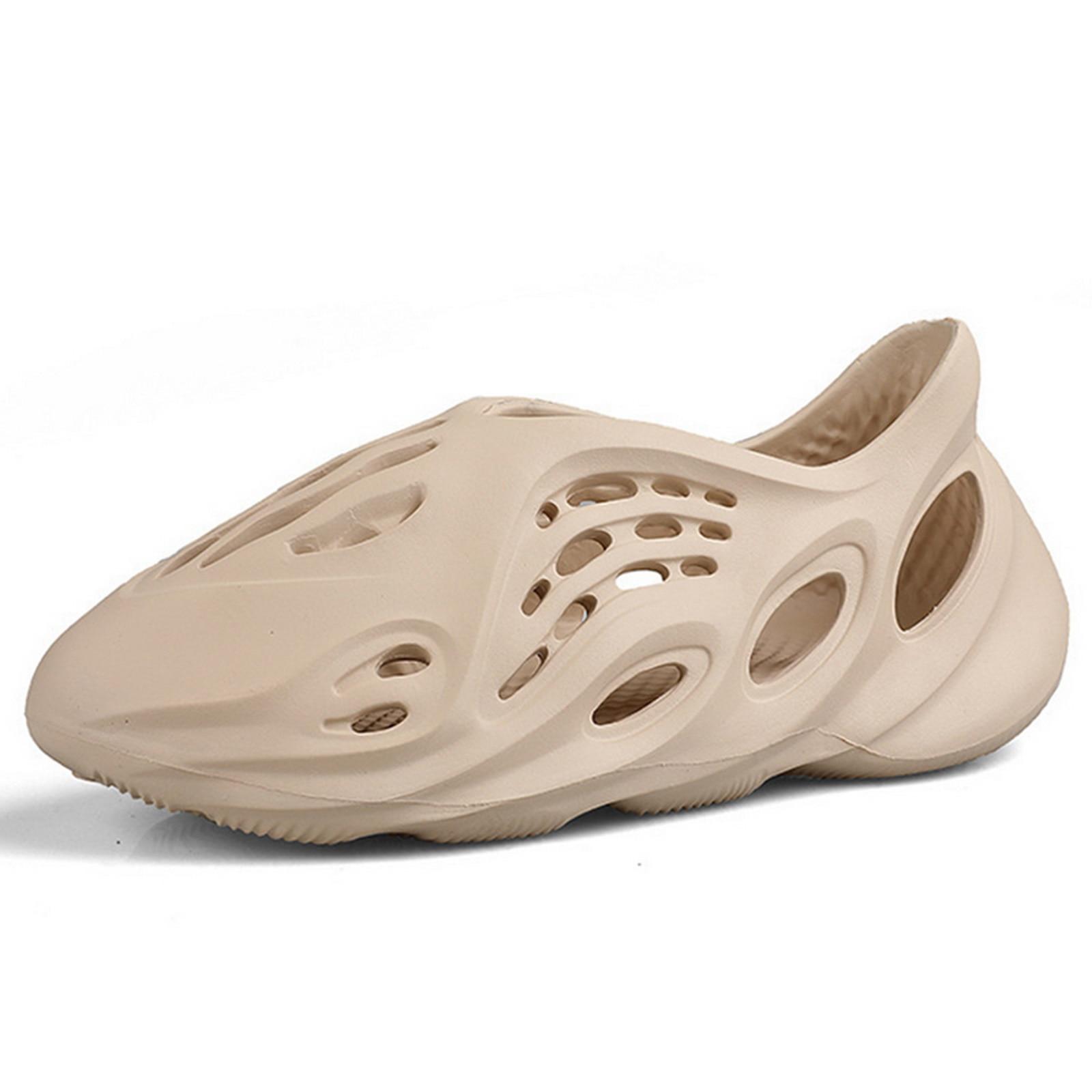 Summer Casual Shoes Men Sandals Soft Mesh Couple Beach Slippers Men Swimming Sandal Foam Runners Comfort Flip-flops Slipper