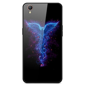 For OPPO A37 Phone Case Tempered Glass Case Phone Cover Fitness Back Bumper Series 1