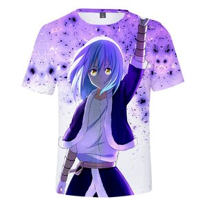 Creative Reincarnated as a Slime T-shirts Boys/girls Summer Short Fashion Design Children Adult Tshirts Casual Anime Clothes