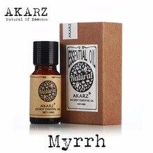 Myrrh essential oil AKARZ Top Brand body face skin care spa message fragrance lamp Aromatherapy Myrr