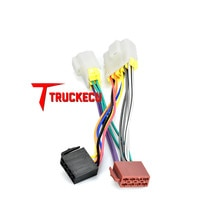 Câble adaptateur RADIO ISO 12-019   Pour NISSAN Maxima,Micra, pat, Sunny,Sirena,Prairie,Teranno,Vanette,100NX,200 SX,300 ZX Before 20