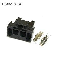 2 ensembles 2 broches manière Auto électrique fusible boîte prise haute courant câblage câble connecteur avec bornes pour VW 161937501 161 937 501